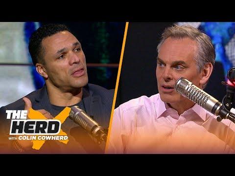 Tony Gonzalez talks Jimmy Johnson's HoF induction, Chiefs, Packers, Ravens, Titans | NFL | THE HERD