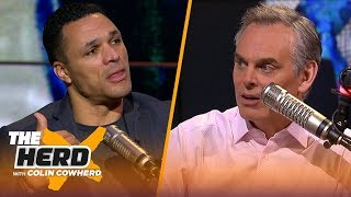 Tony Gonzalez talks Jimmy Johnson's HoF induction, Chiefs, Packers, Ravens, Titans | NFL | THE HERD