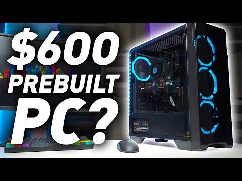 BUDGET PC PREBUILD WORTH IT? | $600 LYTE HYPER Review