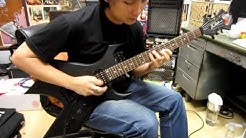 Bc Rich Warlock Platinum Pro Series Guitar Demo By Chatreeo