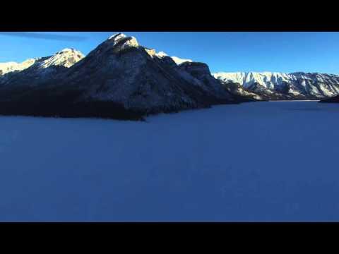 Banff Alberta DJI Phantom 3 Professional Drone 4k Video