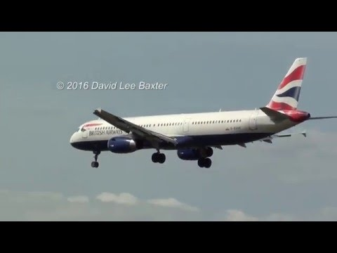 Pan-Pan-Pan! British Airways A321 Oxygen Mask Landing! at London Heathrow Airport