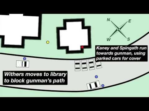 Animated representation of police response to Umpqua Community College shooting