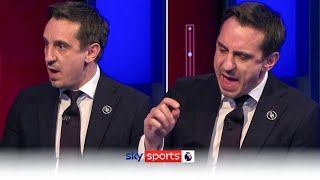 Gary Neville slams 'spineless' owners of breakaway clubs!