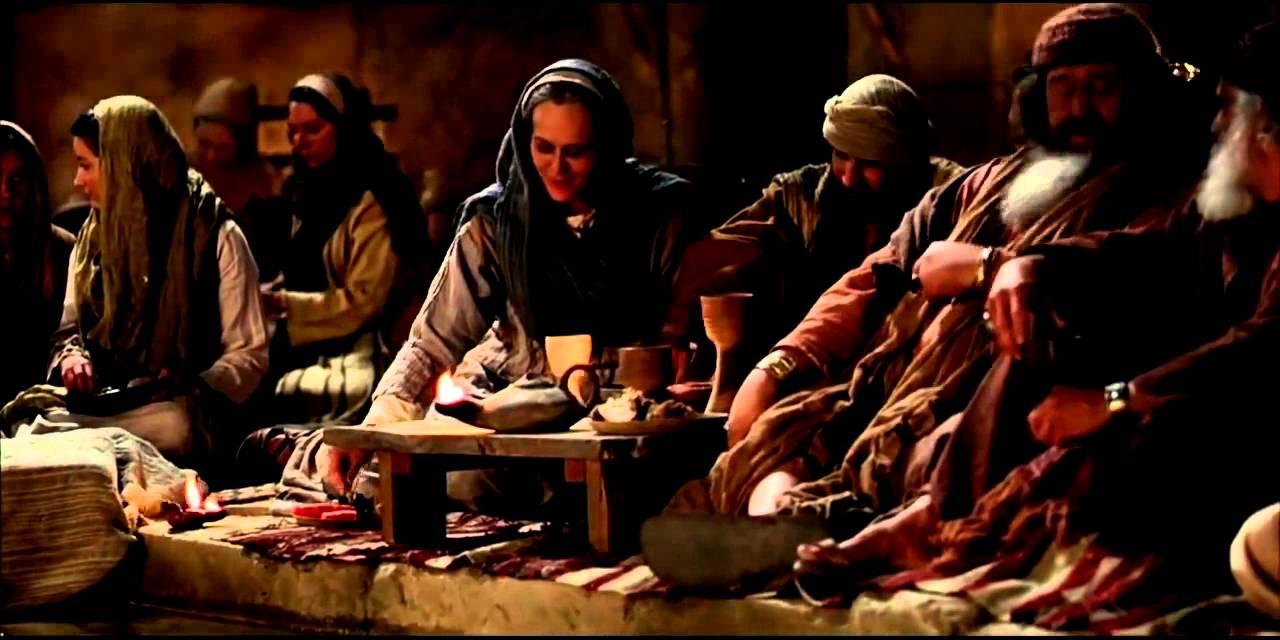 Jesus Verwandelt Wasser In Wein