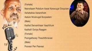 Poongathave - Karaoke for Female Singer