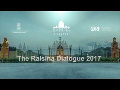 2nd Raisina Dialogue 2017 | The New Normal: Multilateralism with Multipolarity | S. Jaishankar