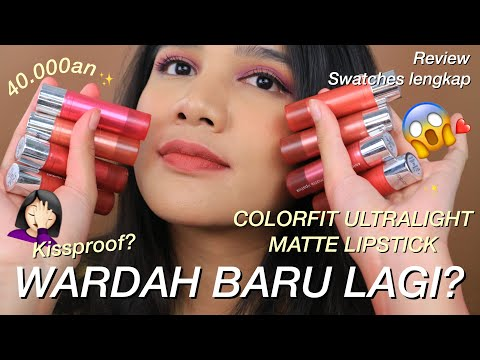 wardah-baru!-colorfit-matte-lipstick-ga-sampe-50ribu-||-review-&-swatches-lengkap!