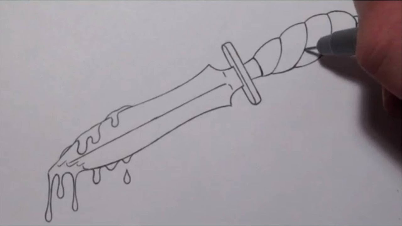 This is a graphic of Invaluable Drawing Of Knife