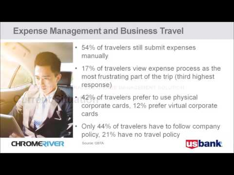 Major benefits of a travel and expense management system