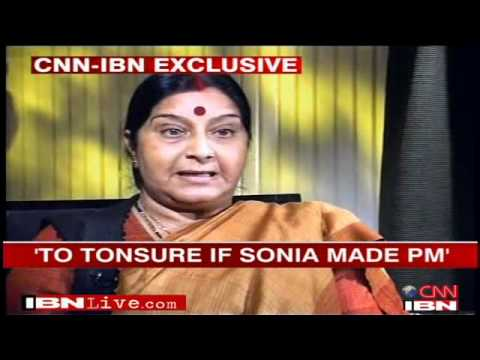 Sushma Swaraj :2/2: In Conversation With Sagarika Ghose: An Interview Facilitated By Twitter!