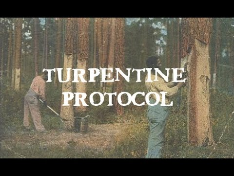 how to get rid of turpentine