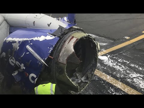 Southwest Airlines jet to air traffic control: 'There's a hole and someone went out' – audio