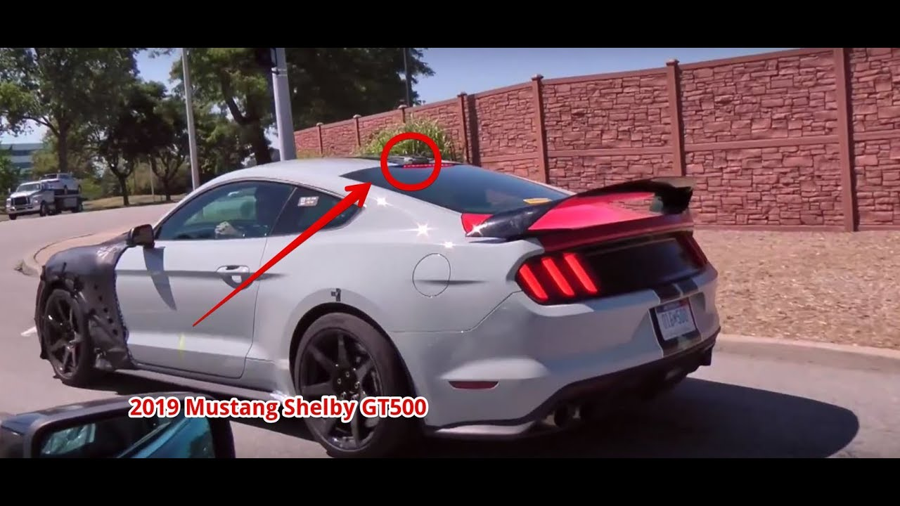 Watch now 2019 shelby gt500 leaked