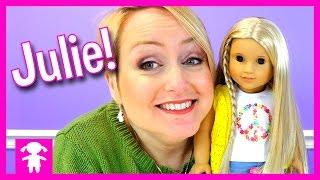 American Girl Julie Be Forever Girl from the 1970's   Mommy's Doll Corner