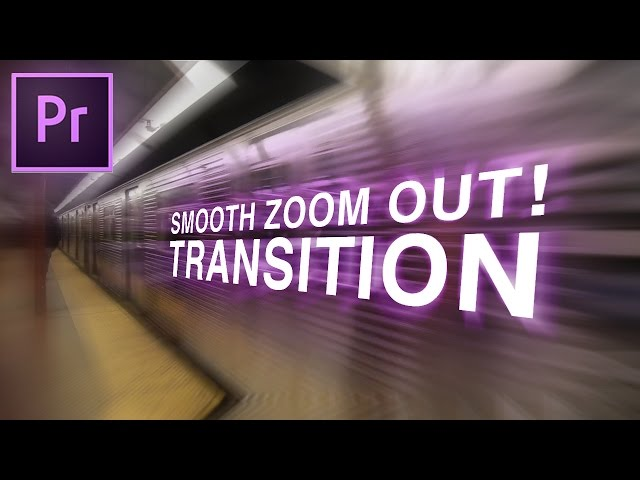 Smooth Zoom OUT Transition Effect! (Adobe Premiere Pro CC Tutorial / How to)
