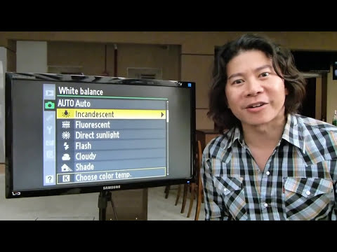 How to use KELVIN White Balance in your DSLR