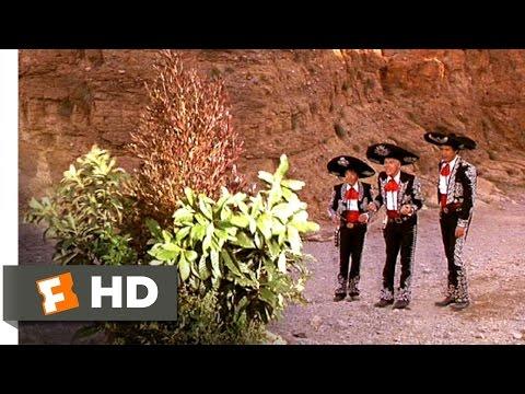 Three Amigos (9/12) Movie CLIP - The Singing Bush and the Invisible Swordsman (1986) HD