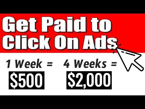 Get Paid $579.82 Per Week Clicking Ads (FREE WEBSITE) | Make Money Online in 2021