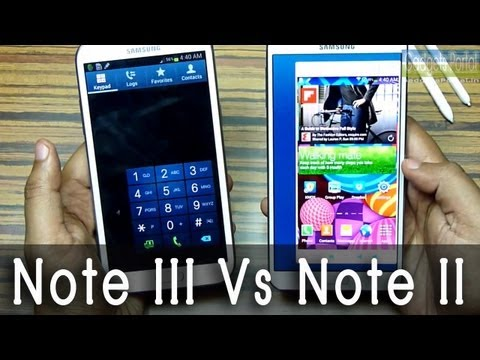 Samsung Galaxy NOTE 3 vs NOTE 2 : Worth the upgrade? an in-depth look
