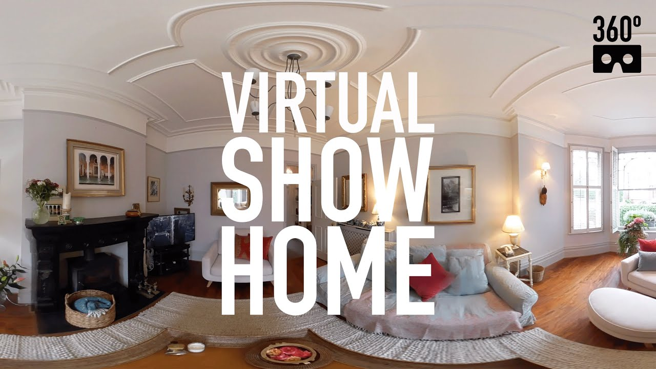 Home Tours Extraordinary 360º Virtual Reality House Tour  Demo Vr 360 Video  Youtube Review