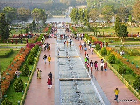 Brindavan Gardens | KRS Dam Mysore