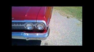 63 impala video resto