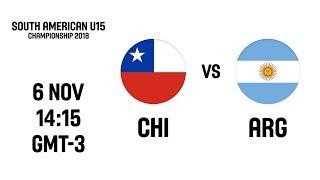 L VE   Chile V Argentina   South American U15 Championship 2018