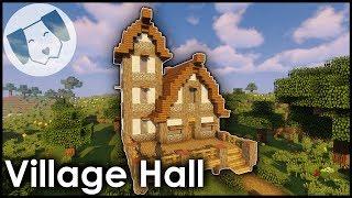 minecraft hall tutorial village