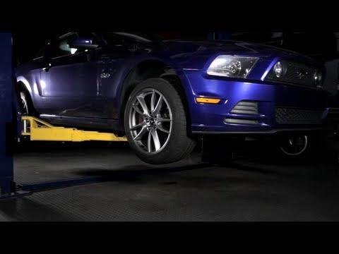 2013 Ford Mustang GT Rear Suspension - C/D Underbelly