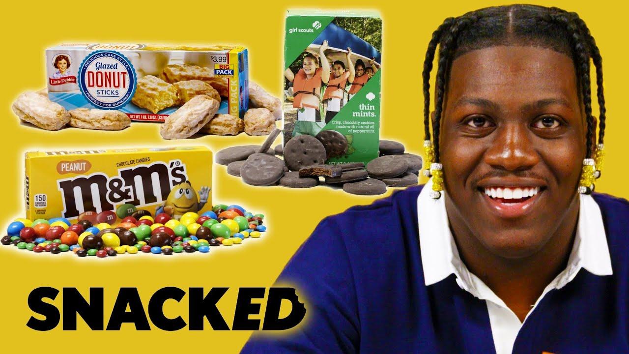 Lil Yachty Breaks Down His Favorite Snacks | Snacked