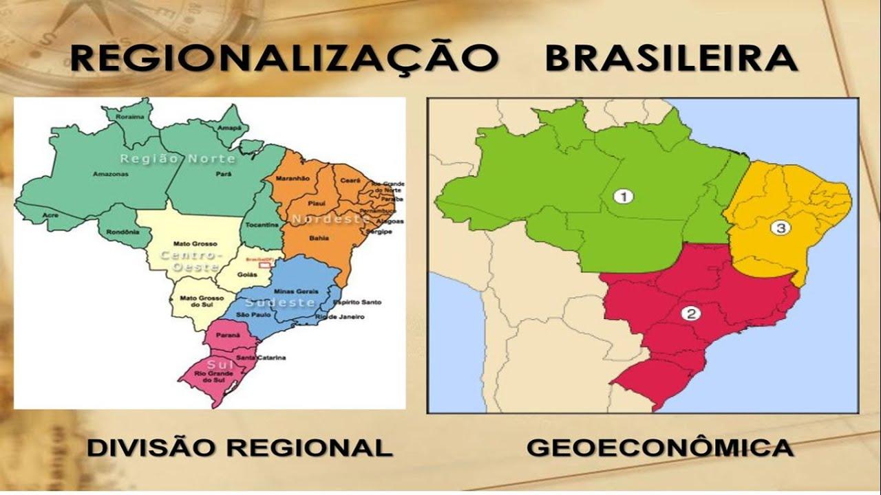 REGIONALIZA U00c7 U00c3O DO BRASIL YouTube