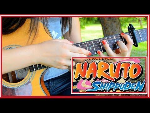 Guren Theme - Naruto Shippuden - Fingerstyle Guitar cover - Rayssa Lacerda