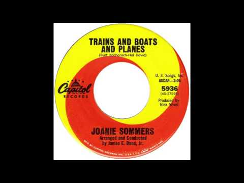 "Joanie Sommers – ""Trains And Boats And Planes"" (Capitol) 1967"