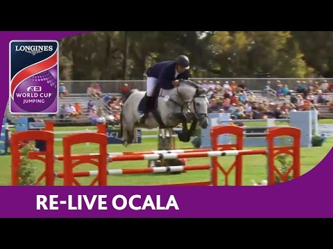 RE-LIVE | Ocala | Longines FEI World Cup™ Jumping 2016/17 NAL | Sovaro Longines World Ranking Comp