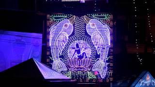 Crowd pulling Light shows: Kolkata Durga Carnival