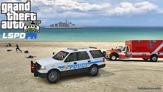 LSPDFR #430 - VESPUCCI PATROL  (GTA 5 REAL LIFE POLICE MOD)