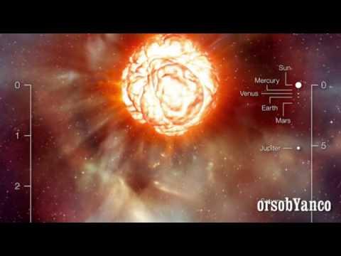 Betelgeuse - LA supergigante rossa che sta per esplodere