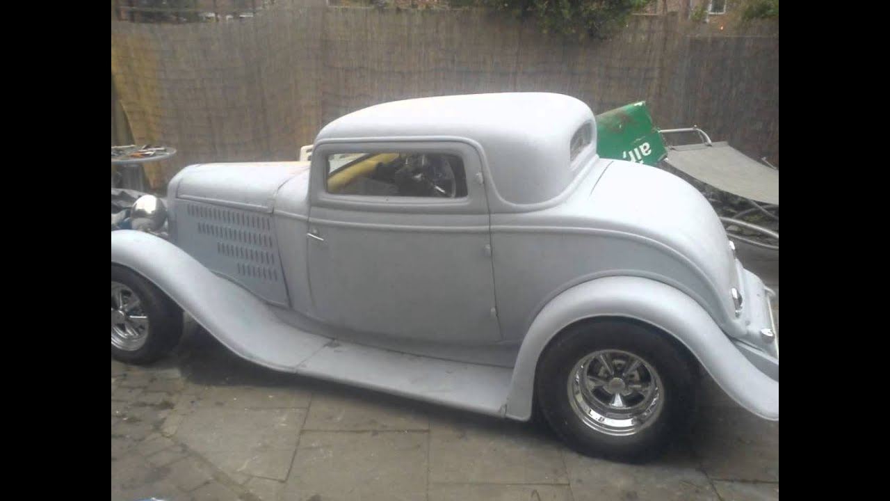 1932 Ford 3 Window Coupe unfinished project for sale - YouTube