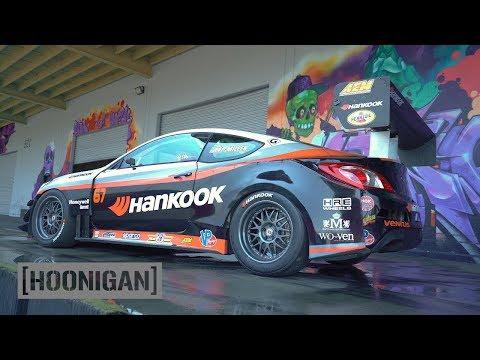 HOONIGAN DT 074 Rhys Millen s Hyundai Genesis Pikes Peak Car