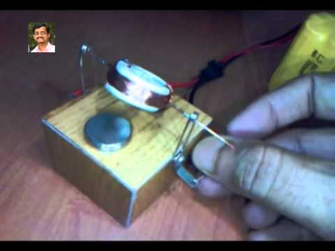 Simple Experiment With Coil Magnet Led Youtube
