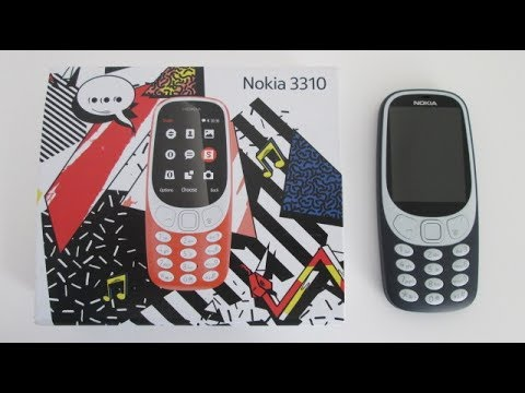 New Nokia 3310 2017 Review Mobile Phone Cell Phone Review, New Snake Game, Microsoft.