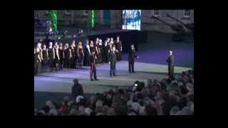 PLYMOUTH CITADEL Music of the Night 2012 , Military wives and guest singers. Jed, Tyrone & John