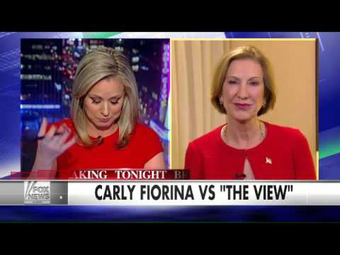 How does Carly Fiorina feel after revisiting