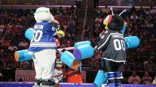 Having The Best Day At Mascot Games Amway Center Orlando FL