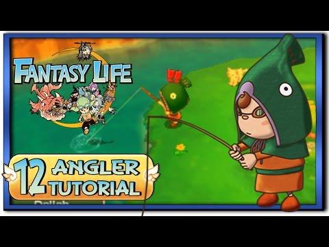 Fantasy Life - Part 12: Angler Life Tutorial + Gameplay!