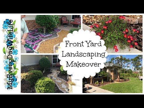 Front Yard Landscaping Makeover -- A Year in the Making!