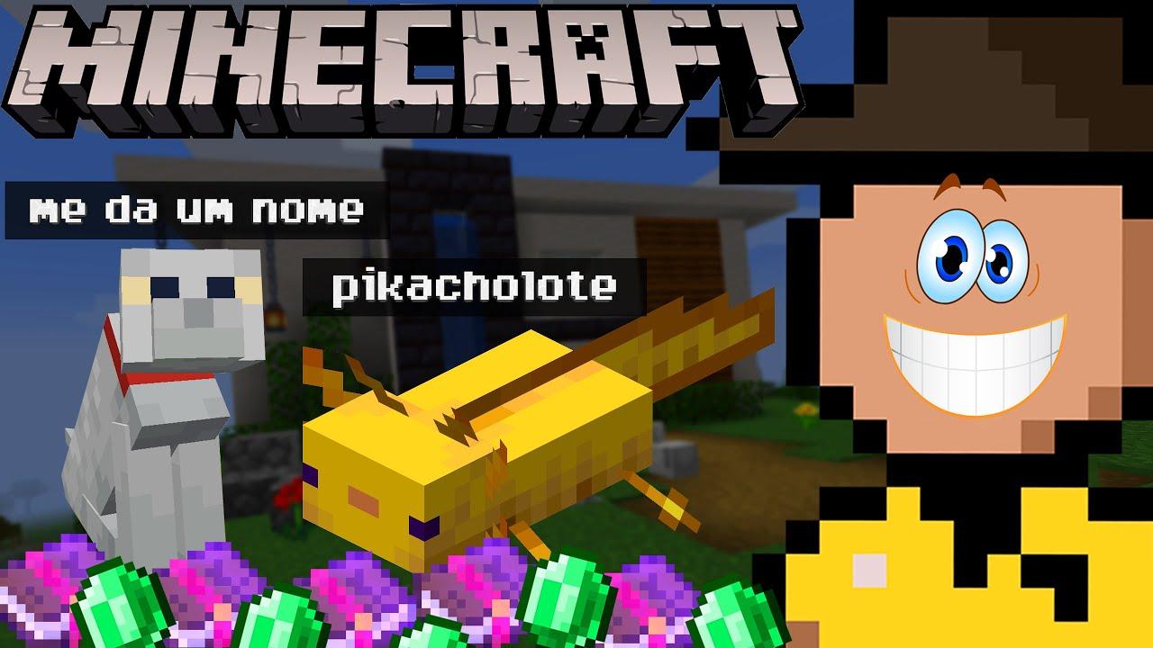 NOVOS PETS e o STONKS DO MENDING (Minecraft Zero Mortes • E39)