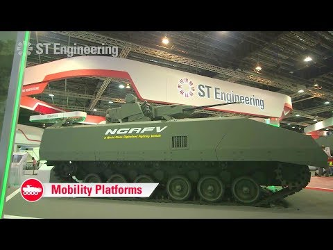 ST Engineering - Singapore Airshow 2018 : Defence Cluster Military Assets [1080p]
