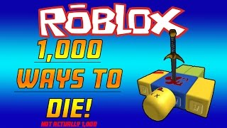 Roblox - 1000 Ways To Die (Natural Disaster Survival)